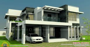 all in one house elevation floor plan and interiors kerala