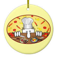 chef tree ornaments keepsake ornaments zazzle