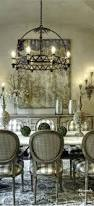 French Country Chair Cushions - french country dining room lighting set table decor chandeliers