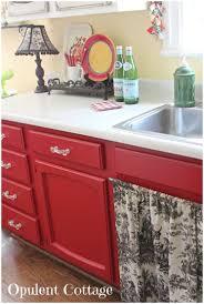 Discontinued Kitchen Cabinets Kitchen Red Kitchen Ideas Pinterest Red Cabinets Check Black