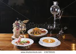 New Year Dinner Table Decoration by Served Dinner New Years Eve Stock Images Royalty Free Images