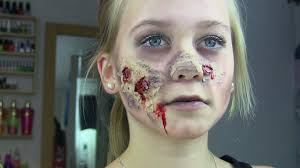 Halloween Zombie Makeup by Zombie Halloween Makeup Tutorial Youtube