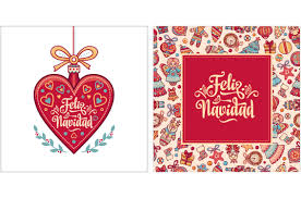 feliz navidad christmas card feliz navidad big set bundle 34 christmas postcard card on
