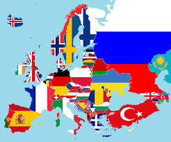 Simple Map Of Europe by Maps Map Of Europe Flags