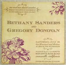 Rustic Vintage Wedding Invitations Floral U2013 Sofia Invitations Blog