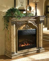 Indoor Electric Fireplace Uniflame Electric Fireplace Faux Stone Surround U2013 Amatapictures Com