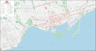 Map Toronto Canada by Ttc Track Diagrams Transit Toronto Content
