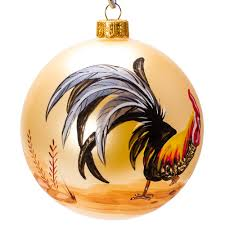 rooster engraving ornament product sku s 150885