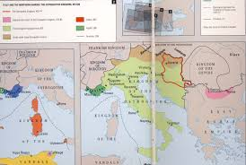 Map Of Italy And Croatia by Formation Of Italy