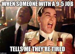 Tired At Work Meme - truck driver i went to hs with gatekeeping being tired because