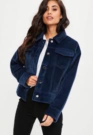 pony hair blue faux pony hair trucker jacket missguided