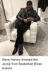 Meme Jackie - steve harvey dressed like jackie from basketball wives lmaooo
