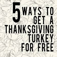 get yourself a free thanksgiving turkey here s how closed and