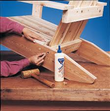 Canvas Deck Chair Plans Pdf by Build An Adirondack Chair With Plans Diy Black Decker