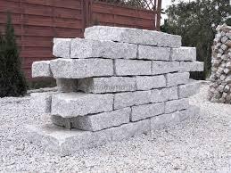 granit mauersteine 10x20x40 cm grau dornberg midomo de