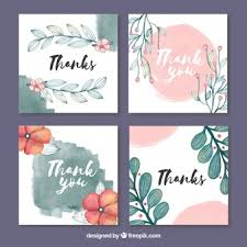 Thank You Card Designs Thank You Card Vectors Photos And Psd Files Free Download