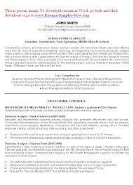 Best Job Objective For Resume by Business Analyst Resume Examples Sample Resume For Business