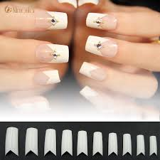 compare prices on french manicure acrylic nails online shopping