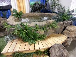 custom rock tubs spas universal rocks