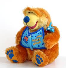 bear in the big blue house storytelling bear talking plush stuffed