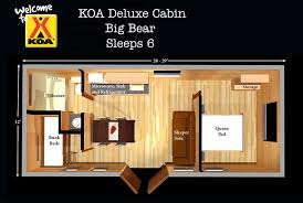 free cabin floor plans deluxe cabins free linens no need to pack sleeping bags better