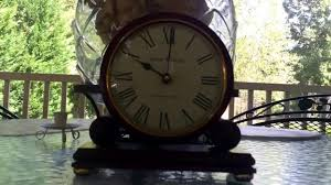 Howard Miller Chiming Mantel Clock Howard Miller Battery Operated Westminster Chime Mantle Clock