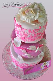 anya u0027s pinkalicious 3 tiered birthday cake emi ponce de souza