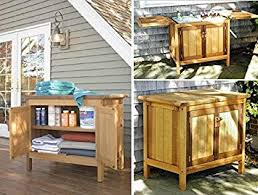 outdoor storage buffet server cabinet amazon ca office products