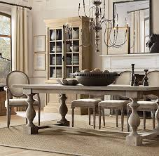 Dining Room Sets With Bench Seating by Best 25 Restoration Hardware Table Ideas On Pinterest Painted
