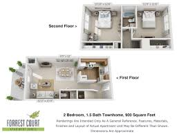 floor plans u2013 forrest court apartments