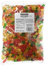 amazon com haribo of america candy dinosaurs 5 pound gummy
