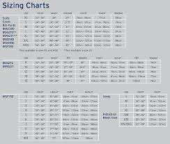 mustang size mustang size chart from defender