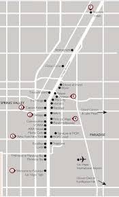 Las Vegas Strip Map Vax Vacationaccess Destination Detail