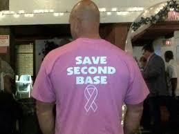Breast Cancer Memes - clever breast cancer awareness shirt meme guy