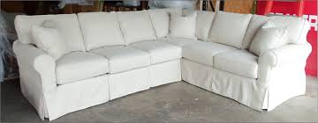 white slipcovered sectional sofa cleanupflorida com