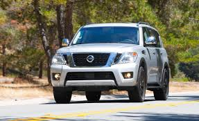 nissan suv back 2017 nissan armada first drive u2013 review u2013 car and driver