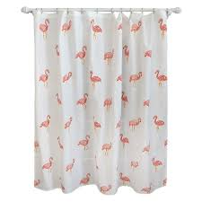 Target Bathroom Shower Curtains Flamingo Shower Curtain Ivory Pillowfort Target