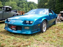 92 camaro rs my car special ordered custom wheels 305 t tops teal