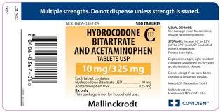 hydrocodone withdrawal symptoms