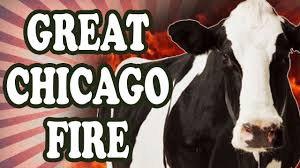 Great Chicago Fire Map by Was The Great Chicago Fire Really Started By A Cow Youtube
