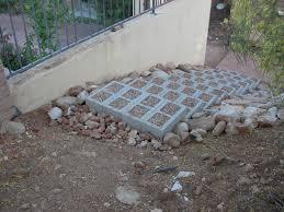 decor landscape steps a hillside cinder block steps and how to