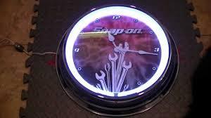 Weird Wall Clocks by Snap On Neon Clock 16