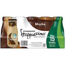 starbucks frappuccino mocha chilled coffee drink 15 9 5 fl oz