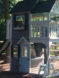 Propane Fire Pit Costco Playset Swingset Renovation We Painted Our Playset From Costco To