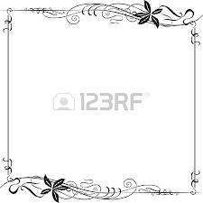 nouveau ornament corners and dividers royalty free cliparts
