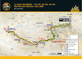 Tour De France Map by La Etapa Costa Rica By Le Tour De France Xsportmedic