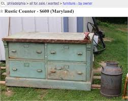 kitchen island antique craigslist repurposed kitchen island possibilities
