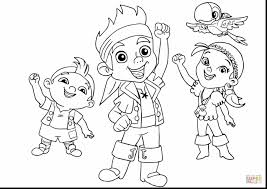excellent jake land pirates coloring pages jake