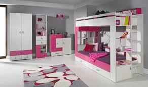 chambre fille lit superposé charmant lit superpose avec escalier rangement 12 lit superpos