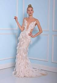 Blue Wedding Dress Sheath Wedding Dresses